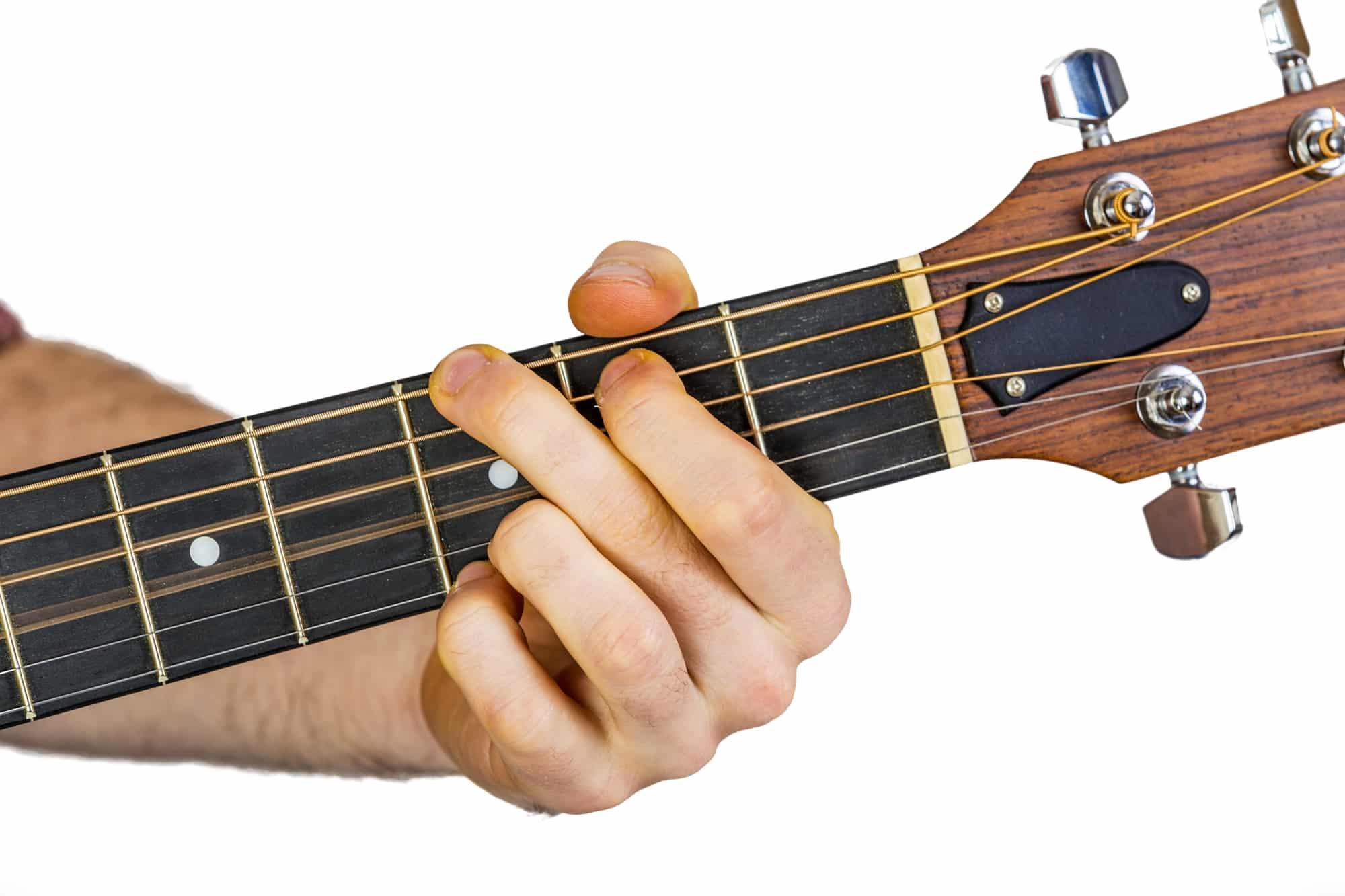 Gitarrengriffe: 12 Akkorde + einfache Lieder