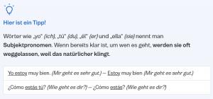 Busuu-Grammatik-Tipp