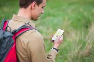 Geocaching-GPS-App-Handy-depo