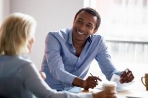 Gehaltsgespräch-Timing-shutter